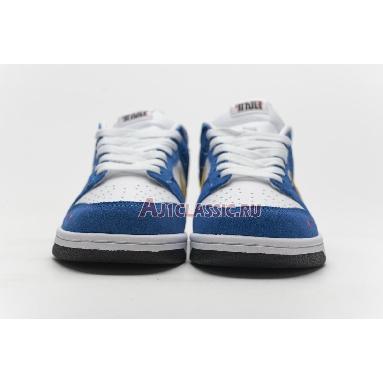 Kasina x Nike Dunk Low Industrial Blue CZ6501-101 Sail/White-Neptune Green-Industrial Blue Sneakers