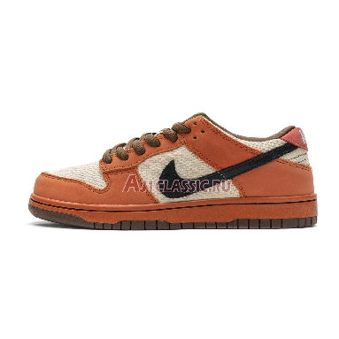 Nike Dunk Low Premium SB Un-Hemp 313170-101 Orange Hemp/Black – Sail Sneakers
