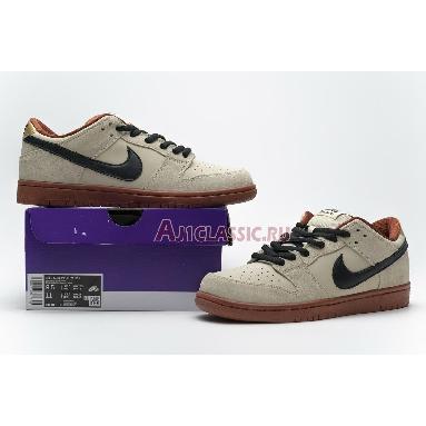 Nike SB Dunk Low Muslin BQ6817-100 Muslin/Black-Muslin Sneakers