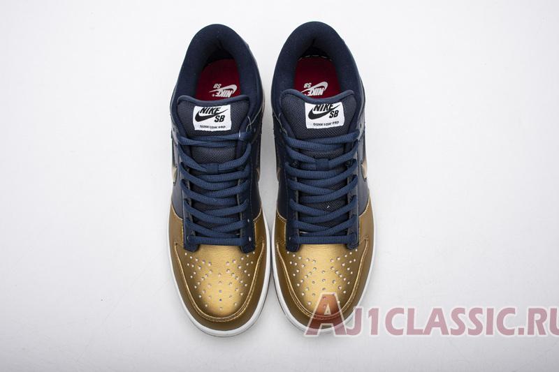"Supreme x Nike Dunk SB Low QS ""Metallic Gold"" CK3480-700"