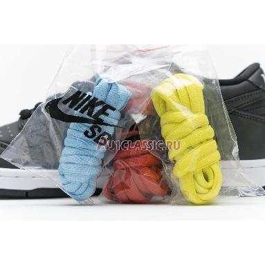 Civilist x Nike Dunk Low Pro SB QS Thermography CZ5123-001 Black/Black/Black Sneakers