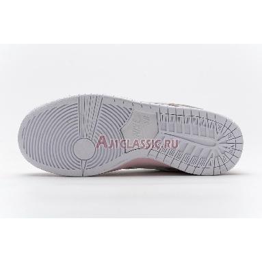 Nike SB Dunk Low PRO OG QS Pink Pigeon BV1310-012 Pink/White Sneakers