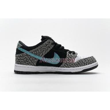 Nike Dunk Low Pro SB Atmos Elephant BQ6817-009 Medium Grey/Black/White/Clear Jade Sneakers