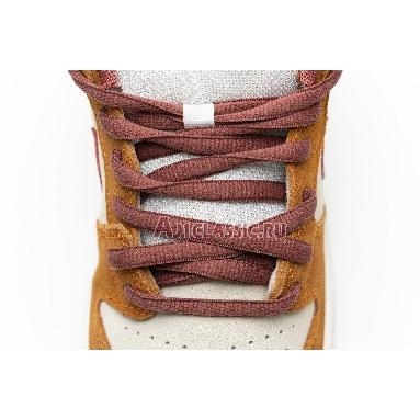 Nike Dunk Low Pro SB Dark Russet BQ6817-202 Dark Russet/Cedar-Summit White Sneakers