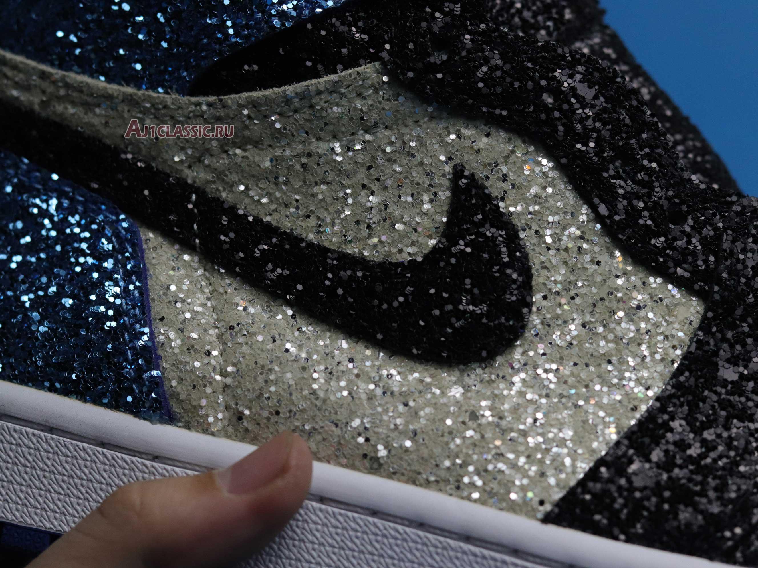 "Surgeon Crafts fragment design x Air Jordan 1 ""Glitter"" CK5566-400"