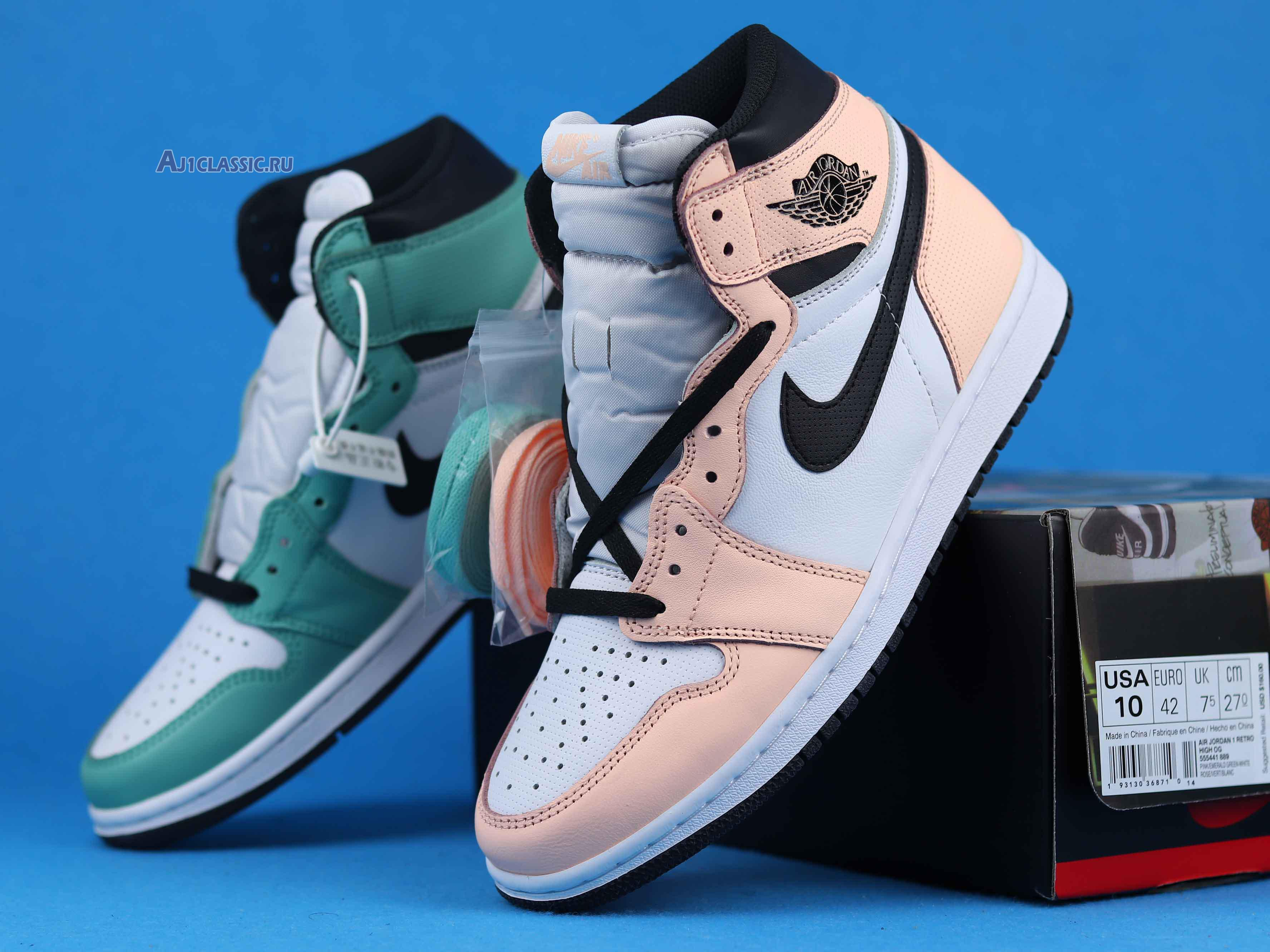 "Air Jordan 1 Retro High OG WMNS ""Multi Color"" 555441-889"