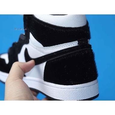 Air Jordan 1 Retro High OG Twist CD0461-007 Black/Black-Metallic Gold-White Sneakers