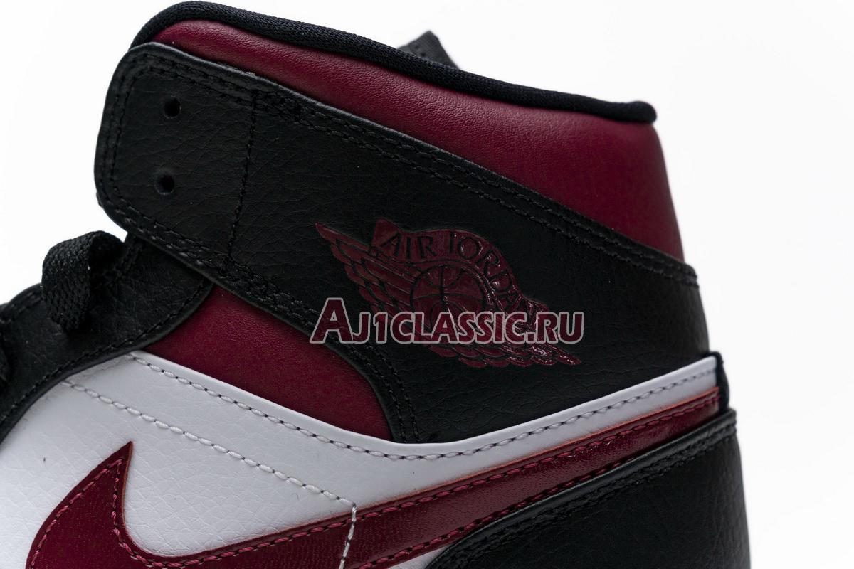 "Air Jordan 1 Mid ""Noble Red"" 554724-066"