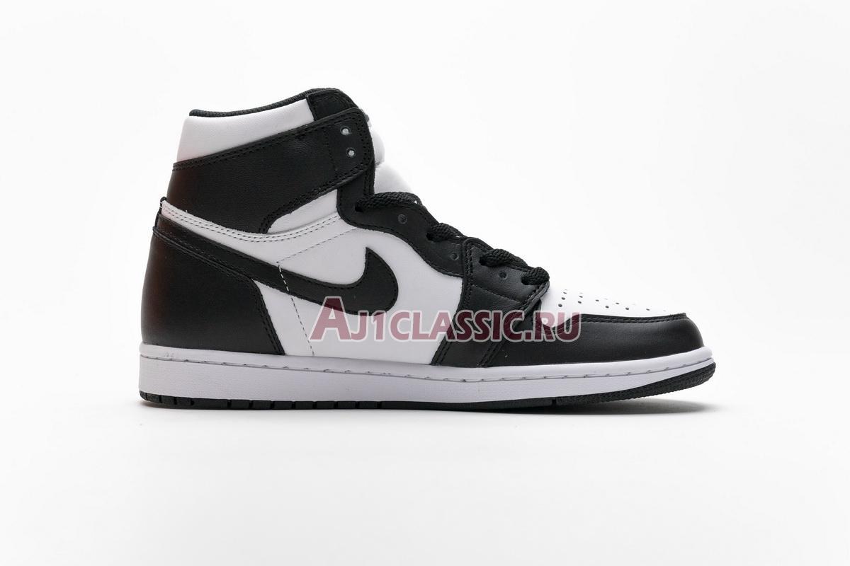 """Air Jordan 1 Retro High OG """"Black/White"""" 555088-010"""