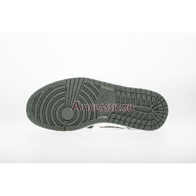Air Jordan 1 Retro High OG Clay Green 555088-135 Summit White/Clay Green-Black Sneakers