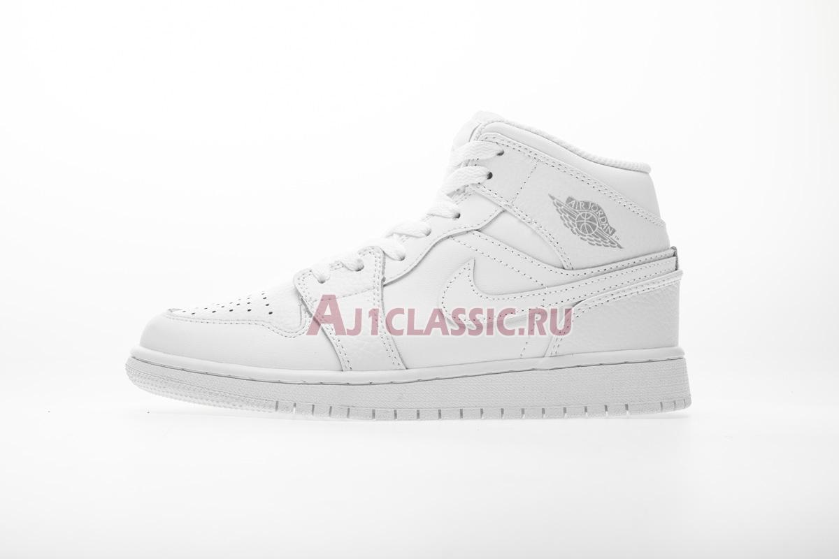 """Air Jordan 1 Retro Mid """"Pure Platinum"""" 554725-109"""