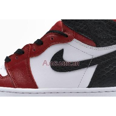 Air Jordan 1 Retro High OG Satin Red CD0461-601 University Red/White/Black Sneakers