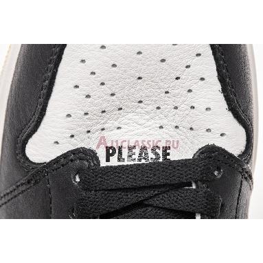 Air Jordan 1 Retro High OG NRG Not For Resale 861428-107 Sail/Black-Varsity Maize/Yellow Sneakers