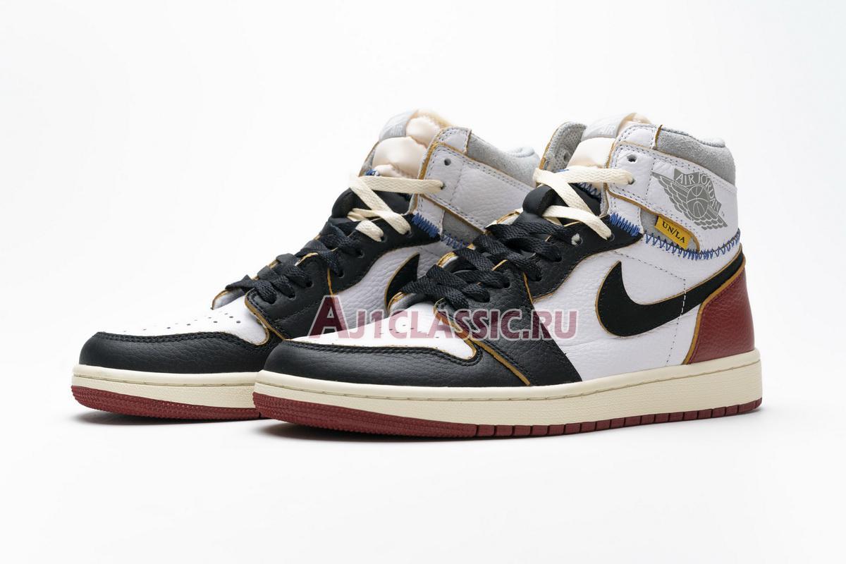 "Union LA x Air Jordan 1 Retro High NRG ""Black Toe"" BV1300-106"