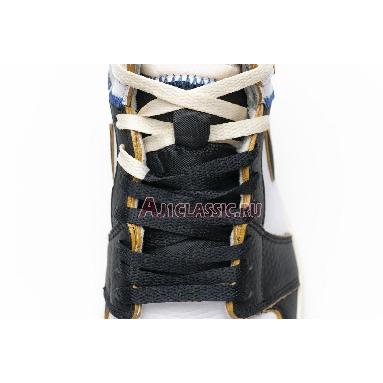Union LA x Air Jordan 1 Retro High NRG Black Toe BV1300-106 White/Black/Varsity Red/Wolf Grey Sneakers
