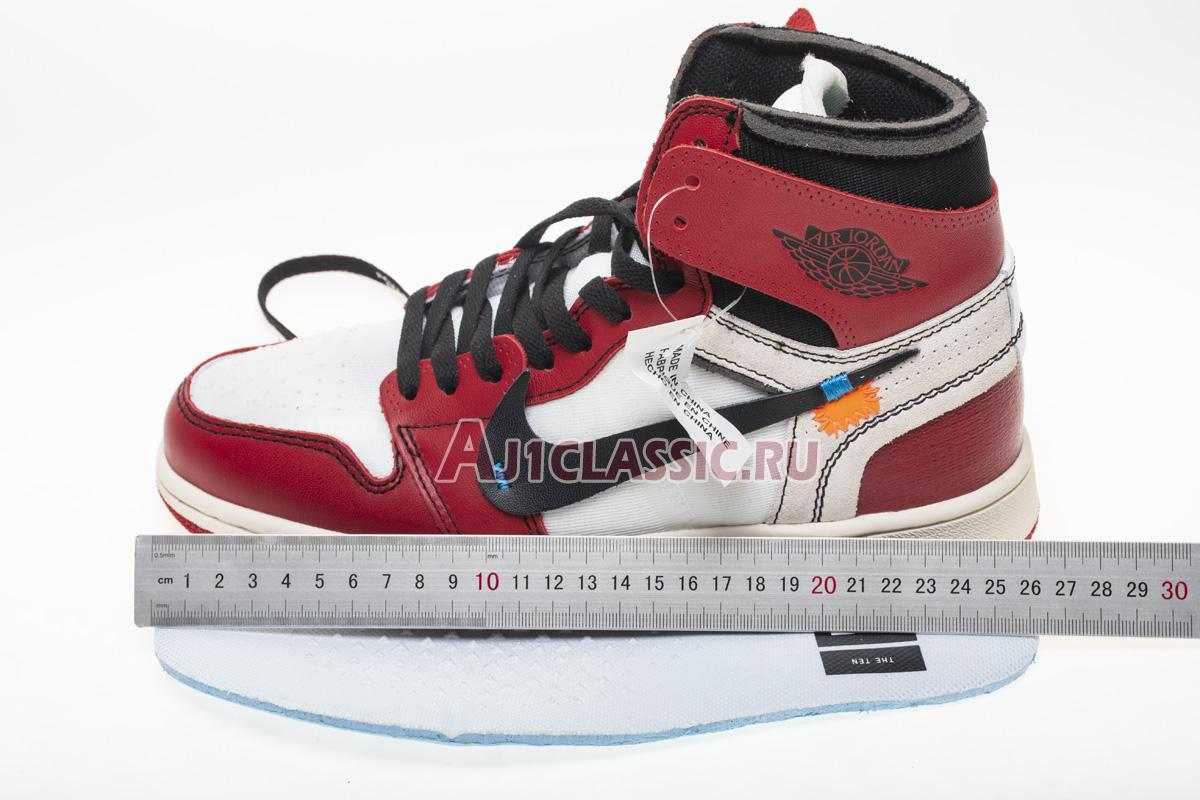"""Off-White x Air Jordan 1 Retro High OG """"Chicago"""" AA3834-101"""