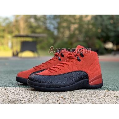 Air Jordan 12 Retro Reverse Flu Game CT8013-602 Varsity Red/Black Sneakers