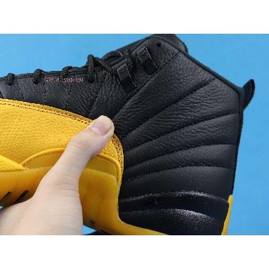 Air Jordan 12 Retro University Gold 130690-070 Black/Black-University Gold Sneakers