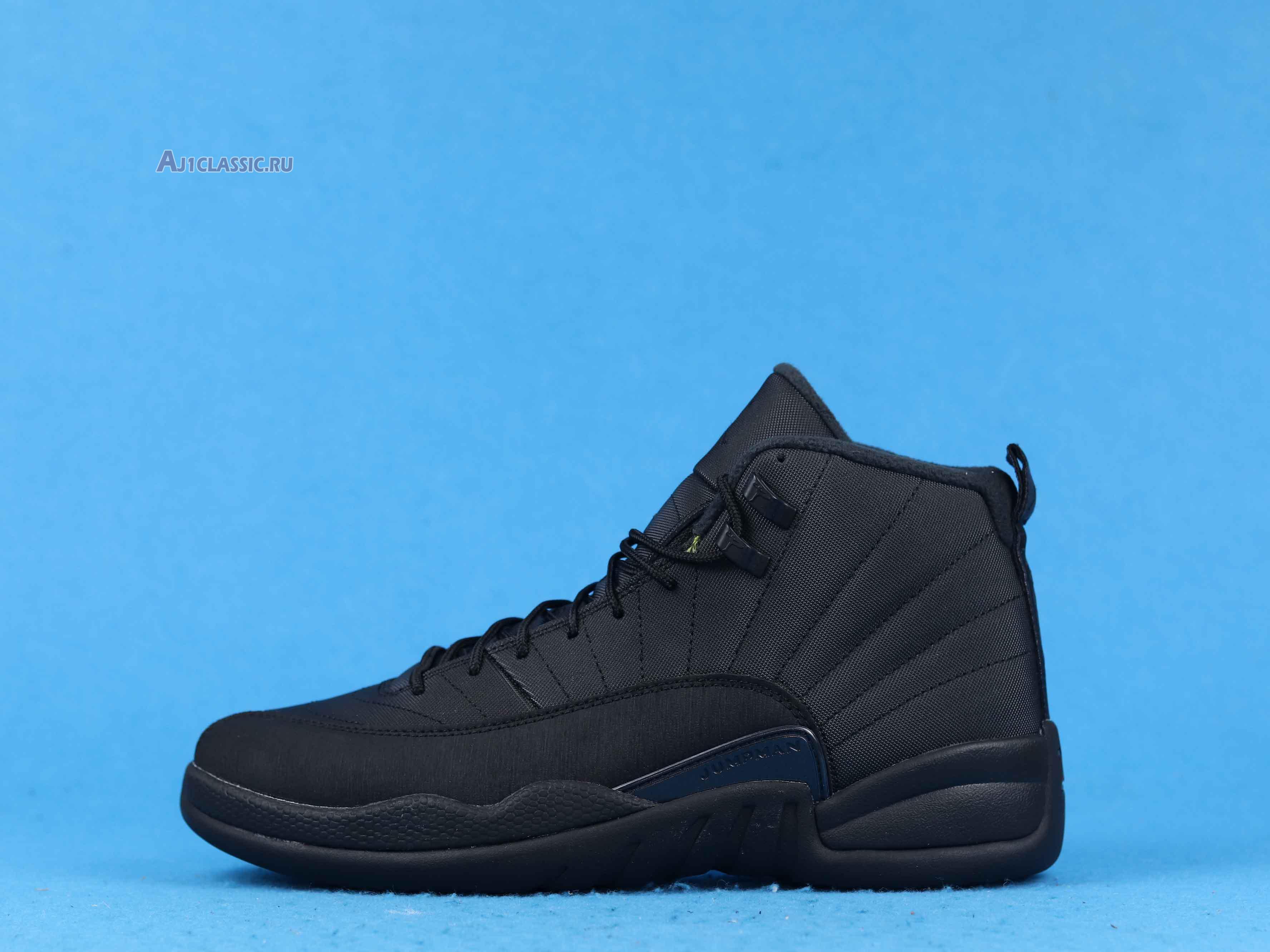 "Air Jordan 12 Retro Winterized ""Triple Black"" BQ6851-001"