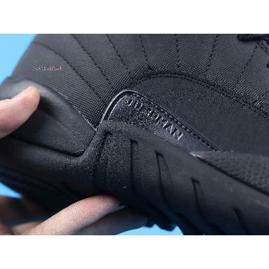 Air Jordan 12 Retro Winterized Triple Black BQ6851-001 Black/Black-Anthracite Sneakers