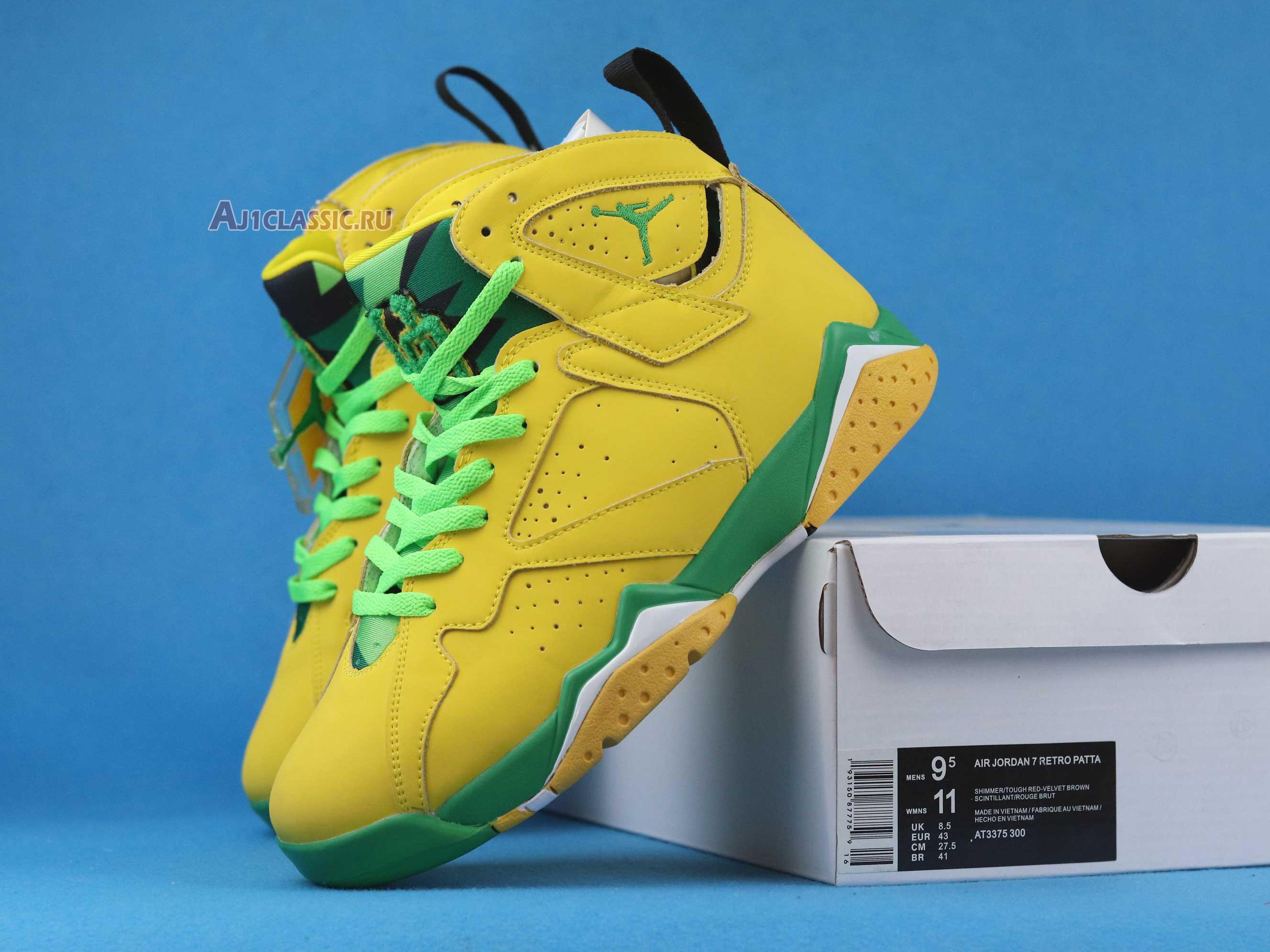 "Air Jordan 7 Retro ""Oregon Ducks PE"" AT3375-300"