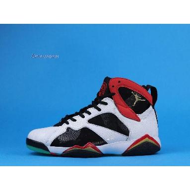 Air Jordan 7 Retro Greater China CW2805-160 White/Chile Red/Black/Metallic Gold Sneakers