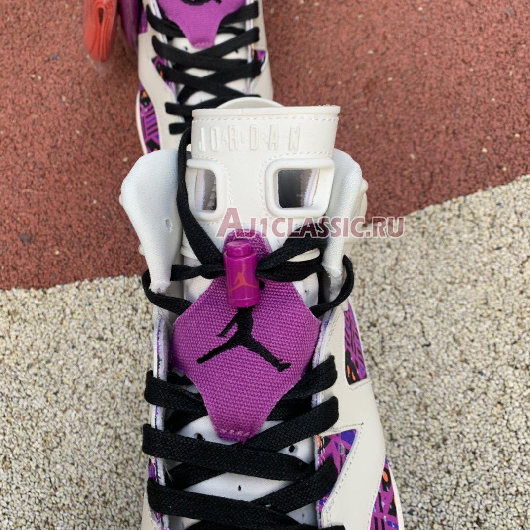 "Air Jordan 6 Retro ""Quai 54 - Purple"" CZ4152-101"