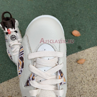 Air Jordan 6 Retro Quai 54 - Sail Gum CZ4152-100 Sail/Total Orange/Gum Light Brown/Baroque Brown Sneakers