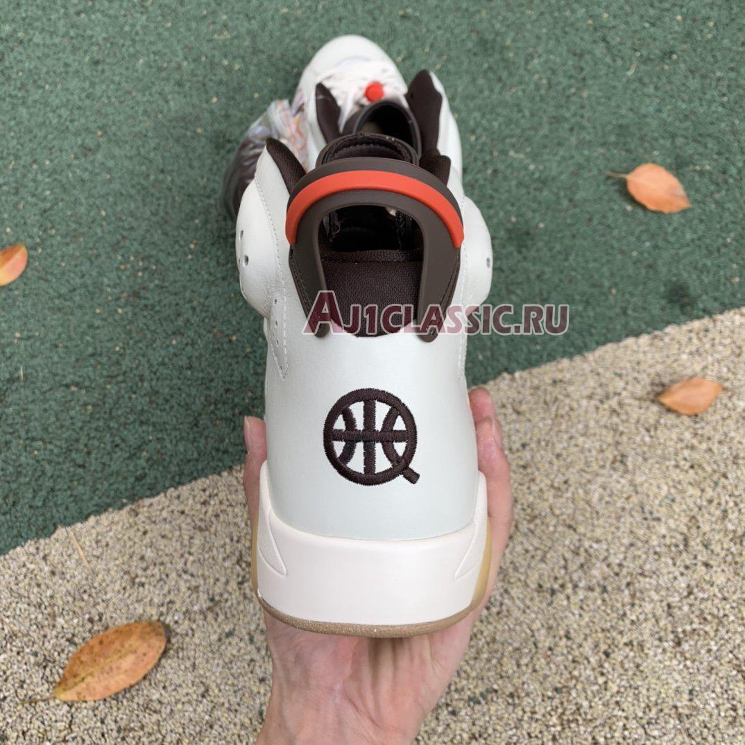 """Air Jordan 6 Retro """"Quai 54 - Sail Gum"""" CZ4152-100"""