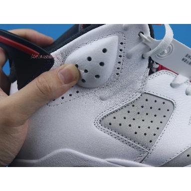 Air Jordan 6 Retro Hare CT8529-062 Neutral Grey/White/True Red/Black Sneakers