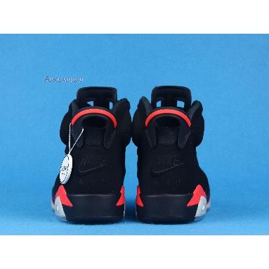 Air Jordan 6 Retro Infrared 2019 384664-060 Black/Infrared 23-Black Sneakers