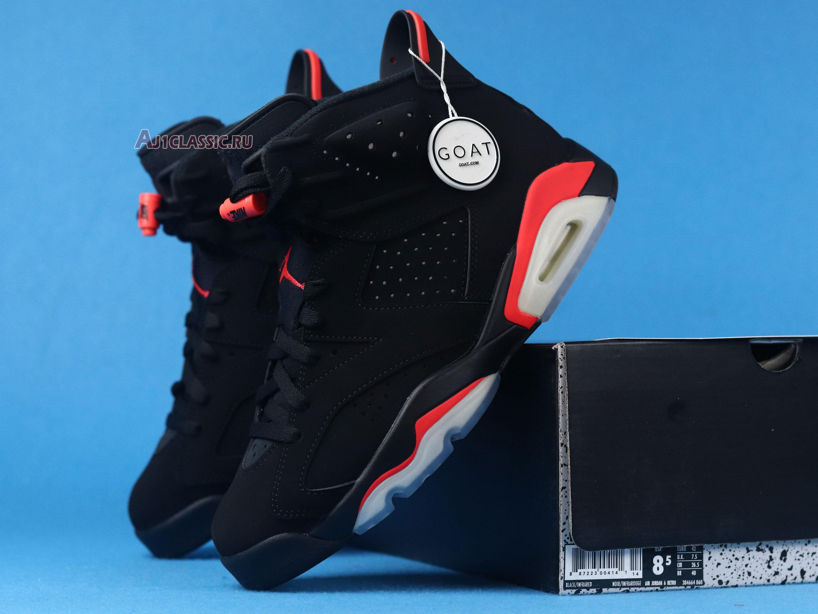"""Air Jordan 6 Retro """"Infrared 2019"""" 384664-060"""