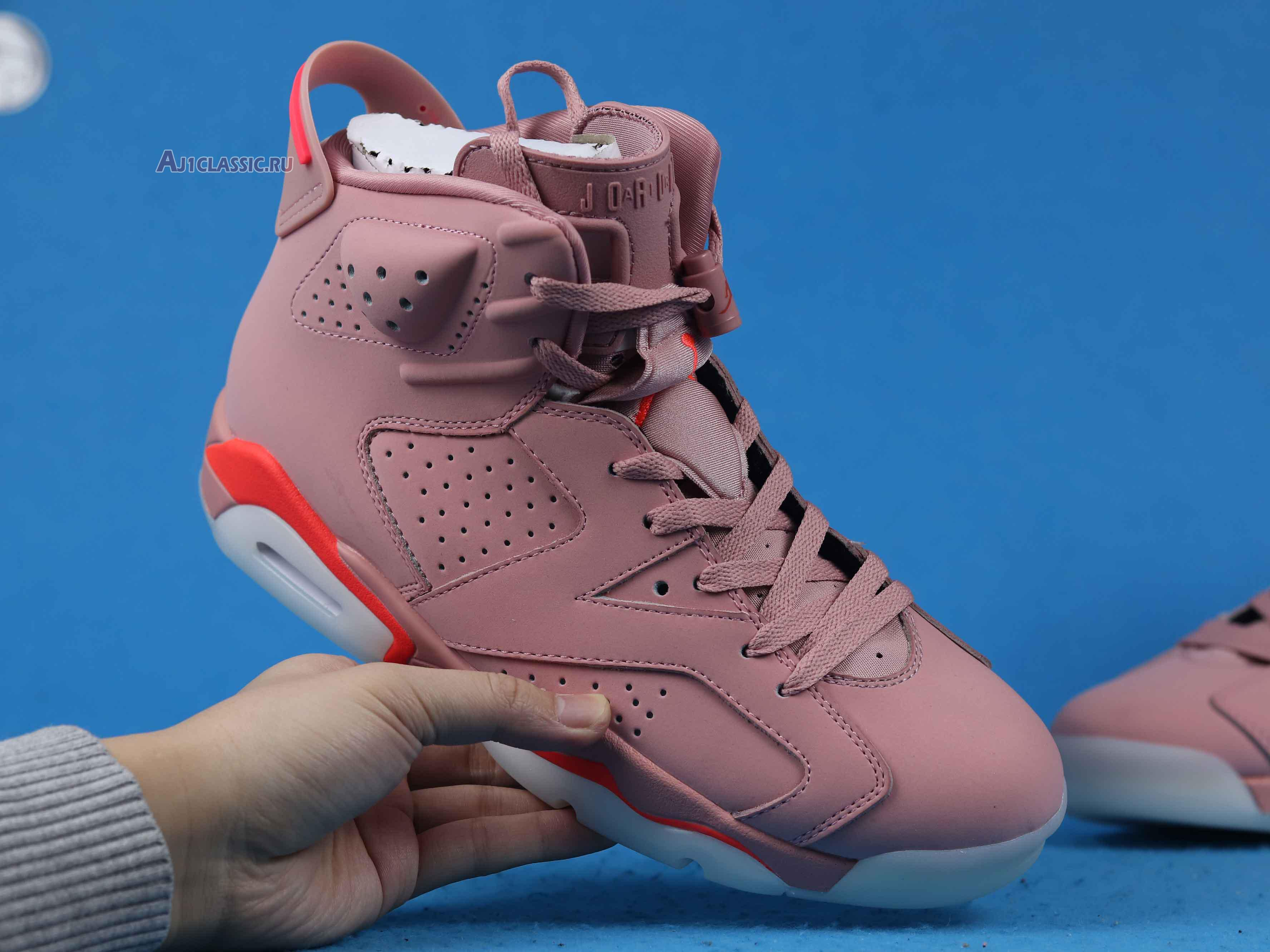 """Aleali May x Air Jordan 6 """"Millennial Pink"""" CI0550-600"""