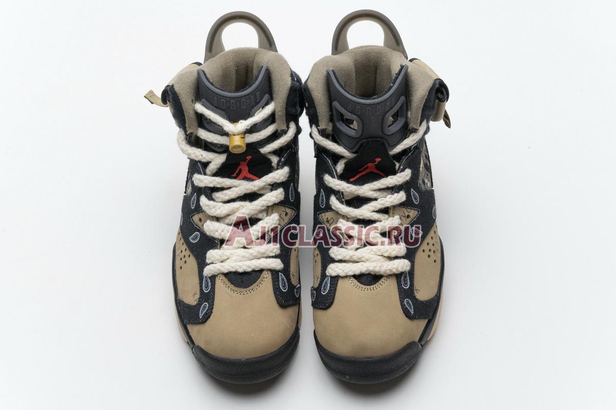 "Travis Scott x Air Jordan 6 ""Cactus Jack"" CT5058-001"