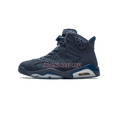 Air Jordan 6 Retro Diffused Blue 384664-400 Diffused Blue/Diffused Blue/Court Blue Sneakers