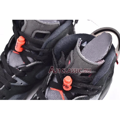 Paris Saint-Germain x Air Jordan 6 Retro Iron Grey CK1229-001 Iron Grey/Infrared 23-Black Sneakers