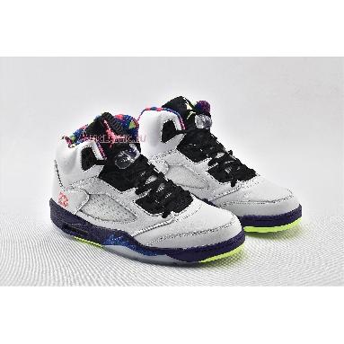 Air Jordan 5 Retro Alternate Bel-Air DB3335-100 White/Court Purple/Racer Pink/Ghost Green Sneakers