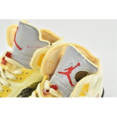 Off-White x Air Jordan 5 SP Sail DH8565-100 Sail/Fire Red/Muslin/Black Sneakers