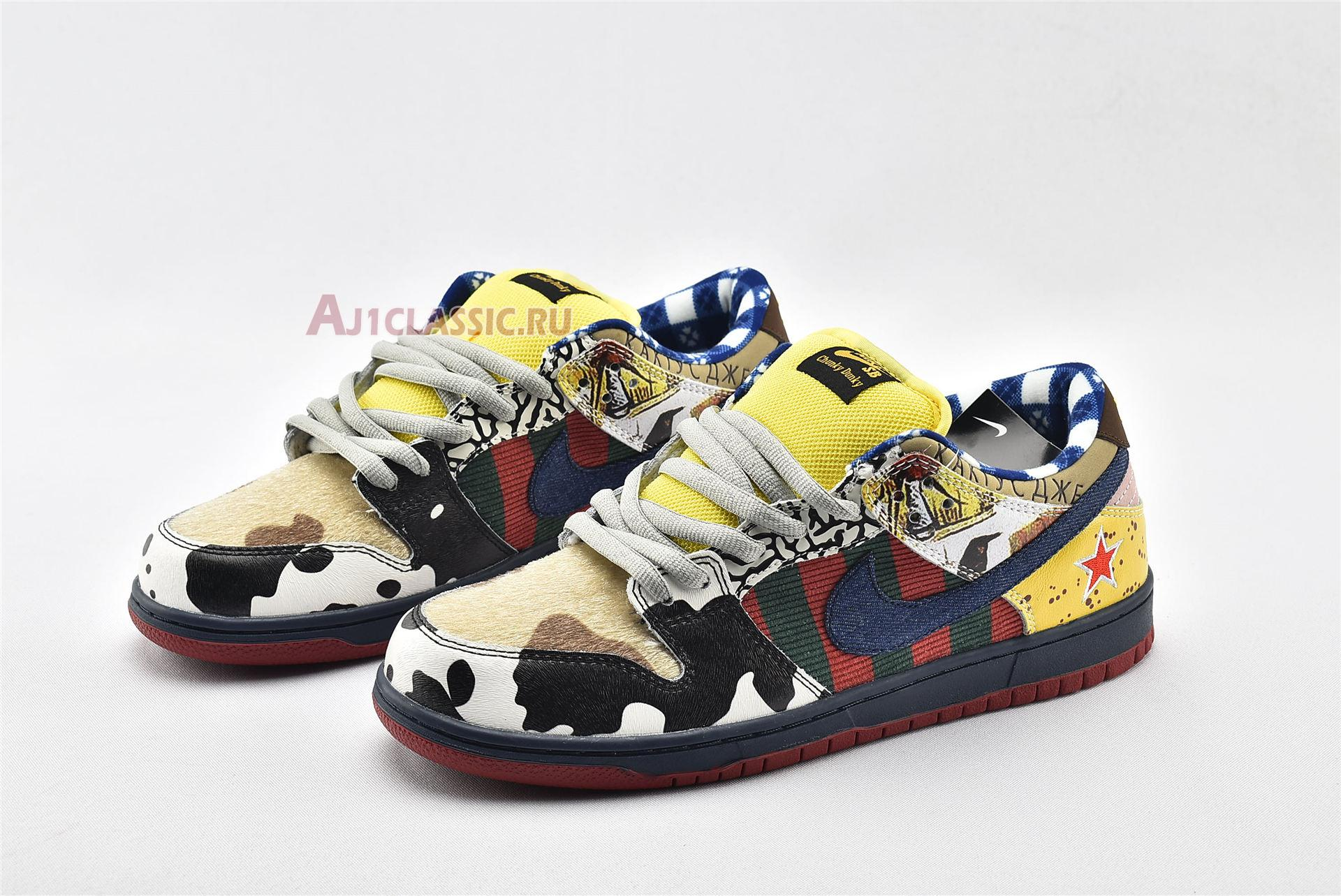 """Nike Dunk Low SB """"What The Dunk 2020"""" 318403-175"""