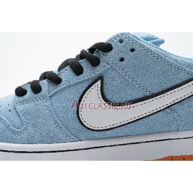 Nike Dunk Low SB Club 58 BQ6817-401 Blue Chill/Safety Orange/Black/White Sneakers