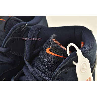 Nike Dunk High Pro ISO SB Orange Label - Midnight Navy CI2692-401 Midnight Navy/Black/White/Midnight Navy Sneakers