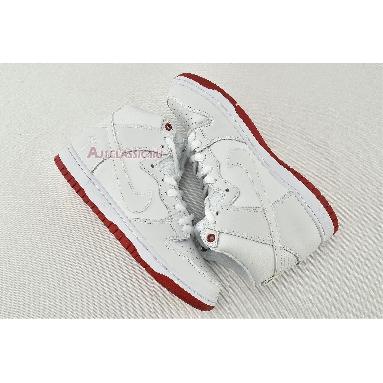 Kevin Bradley x Nike SB Zoom Dunk High Pro Kevin Bradley AH9613-116 White/Red Sneakers