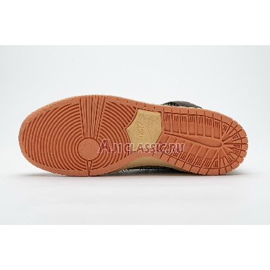 Concepts x Nike Dunk High Pro SB TurDUNKen DC6887-200 Rattan/Parachute Beige/Orange Chalk/Baroque Brown Sneakers