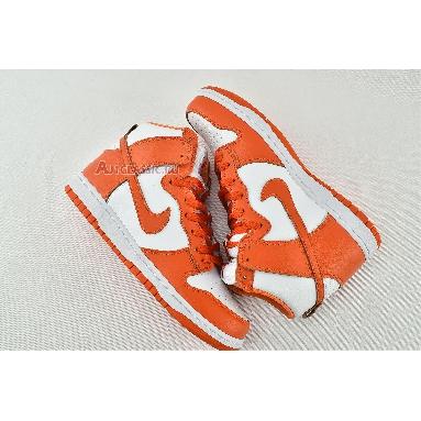 Nike Dunk High Retro QS Syracuse 850477-101 White/Orange Blaze Sneakers