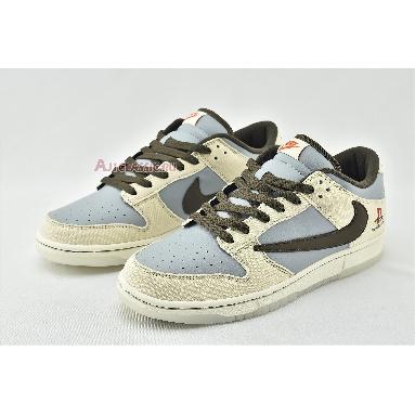 Travis Scott x PlayStation x Nike Dunk Low CU1726-800 Grey/Beige/Brown/Orange Sneakers
