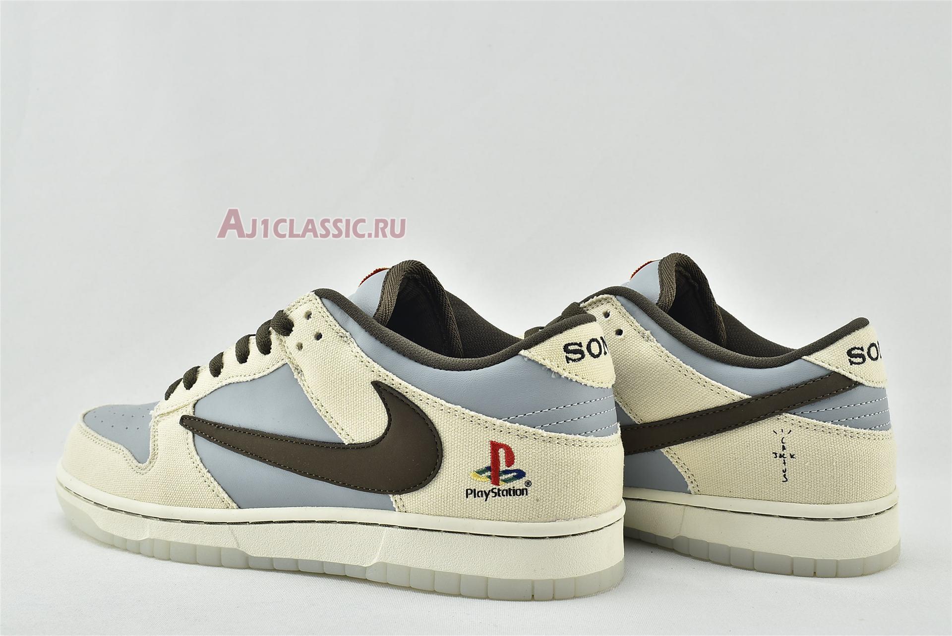 Travis Scott x PlayStation x Nike Dunk Low CU1726-800