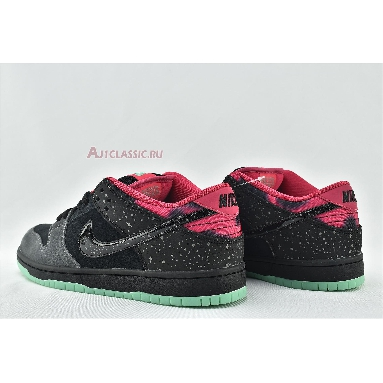 Premier x Nike Dunk Low Premium SB AE QS Northern Lights 724183-063 Anthracite/Black-Pink Force-Crystal Mint Sneakers