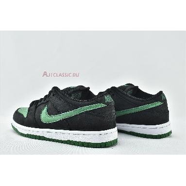 Nike Dunk Low Pro SB Black Pine BQ6817-005 Black/Pine Green-White Sneakers