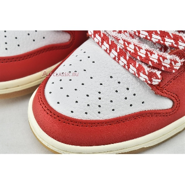 Frame Skate x Nike Dunk Low SB Habibi CT2550-600 Chile Red/White/Lucky Green/Black Sneakers