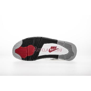 Air Jordan 4 Retro OG White Cement 2016 840606-192 White/Fire Red-Tech Grey-Black Sneakers